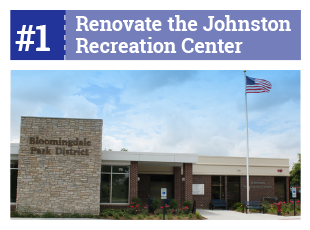 #2 Renovate the Johnston Recreation Center