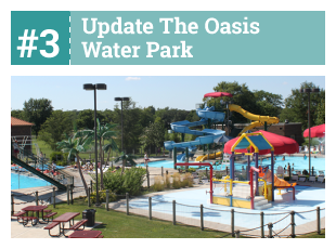 #3 Update the Oasis Water Park